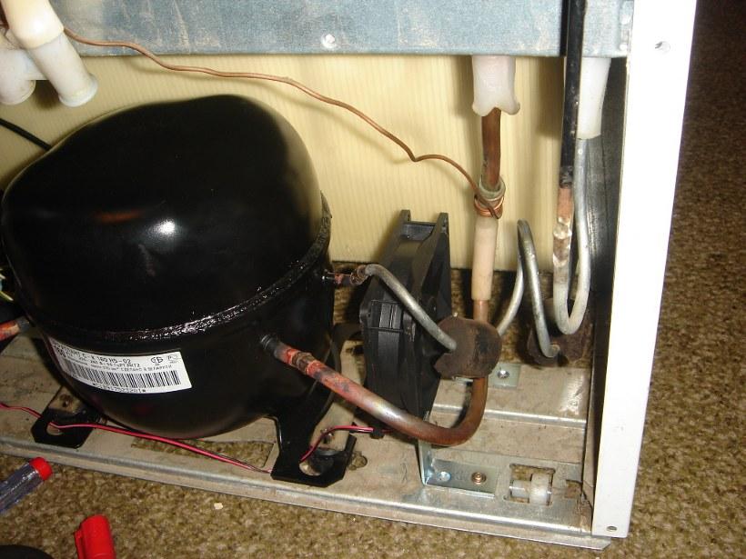 Двигатель от холодильника как с него сделать компрессор